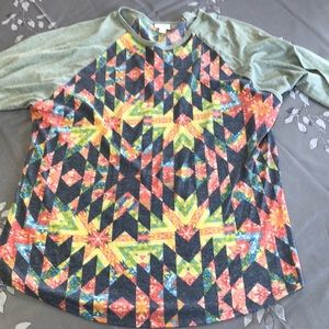 LulaRoe Randy style top, size 3XL